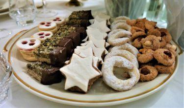 Handgemachte Weihnachtskekse vom Konditormeister persönlich aus Ebenau