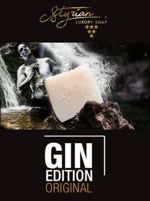 Styrian Luxury Soap GIN  Arganöl Kokosöl Handgemacht in der Südsteiermark Kitzeck Palmölfrei Seife Vegane Seife