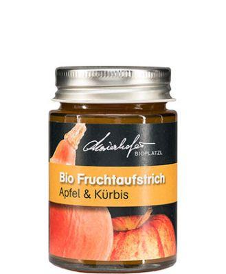 Zutaten: Bio-Äpfel, Bio-Kürbis, Bio-Zucker, Bio-Apfelsaft, Geliermittel: Apfel-Pektin, Zitronensäure, Bio-Zimt