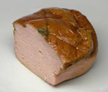leberkäse unter ausschließlicher Verwendung von Wildfleisch.