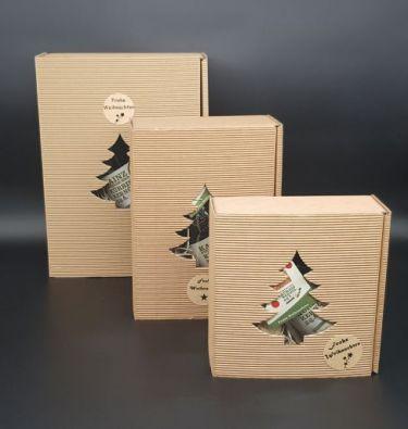 Kainz Geschenkkarton Baum Weihnachten